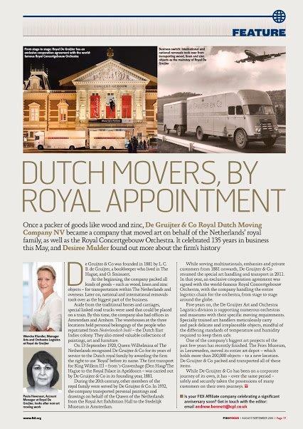 Royal Dutch Movers De Gruijter & Co